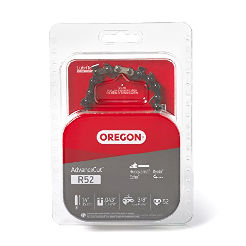 Oregon R52 AdvanceCut 14-Inch Chainsaw Chain, Fits Husqvarna, Echo, Ryobi