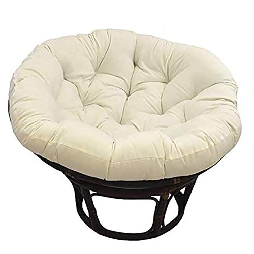 N / A Solid Color Papasan Chair Cushion, Trim from Egg Chair from D'Nest, Fabric Waterproof Seat Cushion Hanging Basket from from from Swing Swing Swing De De Chair Hammock Green 100x100c.