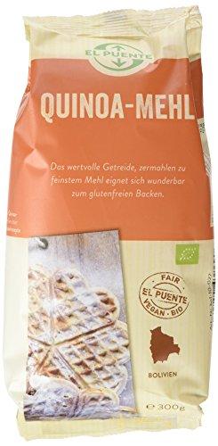 El Puente | Quinoa meel | Biologisch | Fairtrade | 5x300 gram | Oorspronkelijk uit Bolivia | Verpakt en gecontroleerd in Duitsland