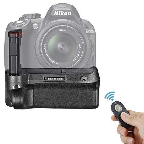 Neewer Remote Control Vertical Battery Grip Work with EN-EL14 Battery Compatible with Nikon D3100/D3200/D3300/D5300 SLR…