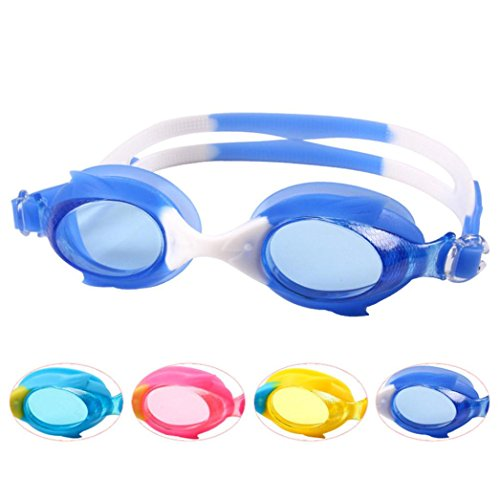 Amazing Deal Nacome Swimming Accessories,Children Swimming Goggles Adjustable Flat Mirror Swim Glass...