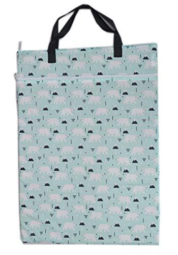 Grand sac à suspendre pour couches réutilisables ou linge sale humide/sec
