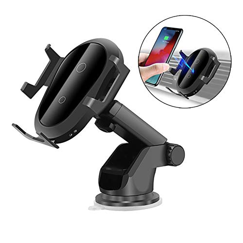 Tsriy 10 W Car Holder mobiele telefoon lader zonder kabel voor iPhone X Samsung S10 S9 S8 Wireless Snellading Holder Car Charger