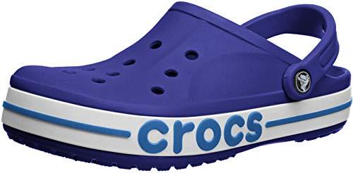 Crocs - Zoccoli da uomo e da donna Bayaband, (Cerulean Blue Ocean.), 46/47 EU
