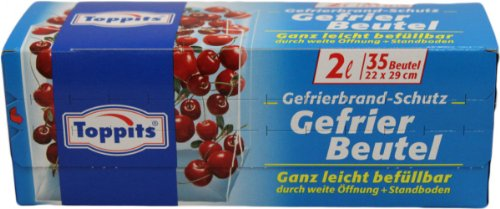 Toppits Gefrier Beutel 2L 35 Beutel