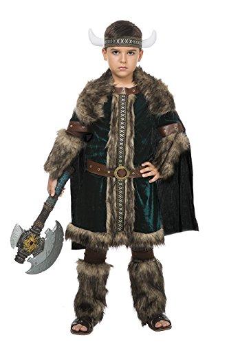 Disfraz Vikingo Green (5-6 AÑOS)