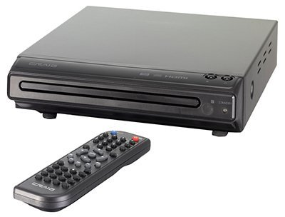Craig HDMI DVD Player with Remote (CVD401a) by Craig Electronics - http://coolthings.us