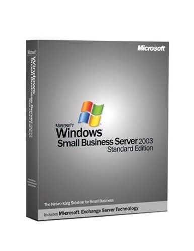 Microsoft Windows Small Business Server 2003, Standard Edition - CD/DVD 5CLT/CAL