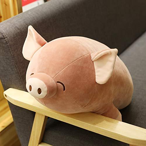 feimeifen Süße Schwein Schwein Pacht Plüsch Spielzeug Schwein Schwein halten Kissen Puppe Puppe Puppe Puppe 60 cm W