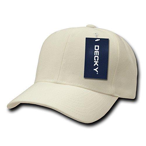 DECKY Deluxe Baseball Cap, Ivory
