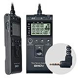 SMDV Timer Remote Controller T805 Interval Release Control Photography for Canon EOS R6 R RP 1300D 1100D 1000D 800D 760D 200Dll 200D 100D 90D 80D M5 M6 M6markll