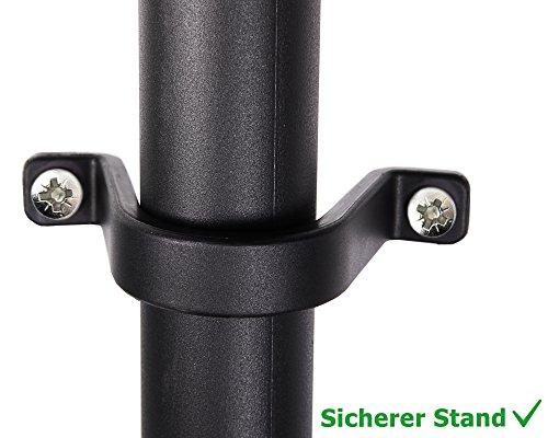 Ondis24 2x günstiges stabiles Regal Lagerregal Steckregal Kunststoffregal 12 Zoll Schwerlastregal bis zu 125 kg! (60 x 30 x 138 (H) cm) - 7