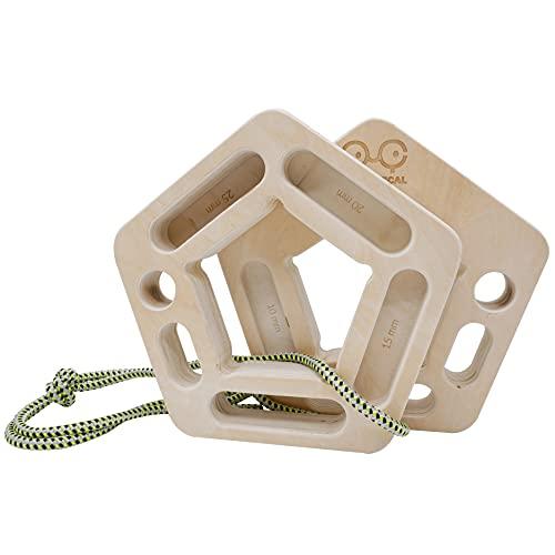 YY Vertical El soporte para escalada más versátil   Ideal para entrenamiento en casa   Fortalece los dedos y la parte superior del cuerpo
