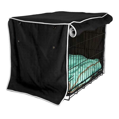 chengsan Funda para jaulas de Perro, cobertor para jaulas de Alambre, Resistente al Agua, Mezcla de poliéster de Poliuretano