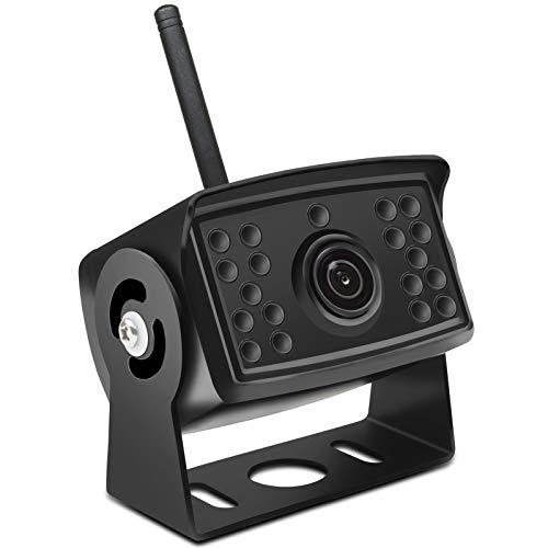 Rückfahrkamera Kabellos ,Reversing Kamera 170° Weitwinkelobjektiv IP69 Wasserdicht Nachtsicht Backup Kamera Wireless für Rückfahrhilfe & Einparkhilfe (170° Winkel Kamera)