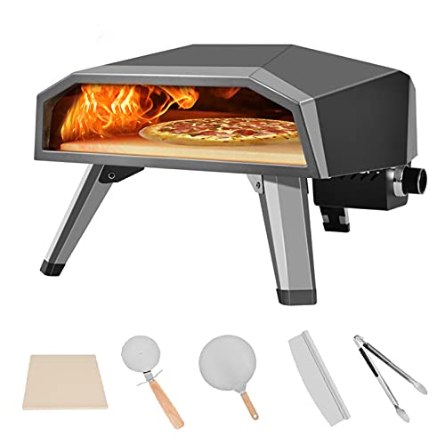 Portable Gas Pizza Oven with 13