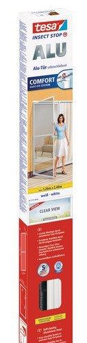 tesa® Fliegengitter ALU Comfort Tür XL, weiß, 1,2m:2,4m