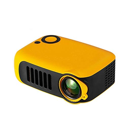 Portable A2000 LED Projector 600 Lumen 3.5mm Audio 320x240 Pixels A2000 HDMI USB Mini Projector Home Media Player Best Gift|LCD Projectors, Yellow