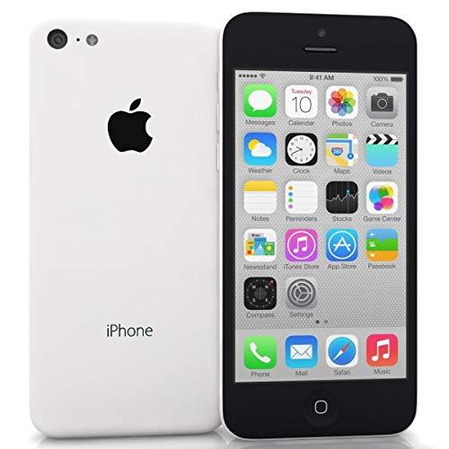 iPhone 5C White 16GB Unlocked ATT Tmobile Sprint Metro Cricket Straight Talk Mint (Renewed)