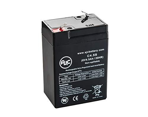 Batterie Siltron SN640 6V 4.5Ah Lampe de Secours - Ce Produit est Un Article de Remplacement de la Marque AJC®