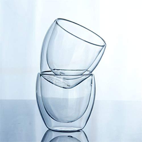 Champagne Glazen Set van 2 Drinkware Wijnglas Koffie Theekop 250 Ml 3,5
