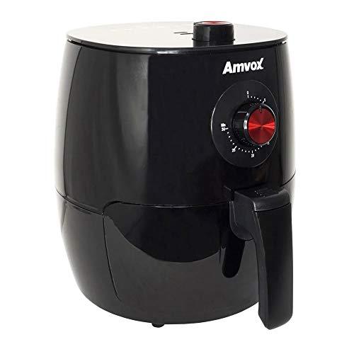 AIR FRYER AMVOX PRETA 1270W 3,5L (110)