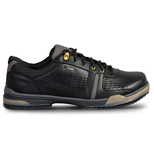 KR Strikeforce Men's Hammer Boss Performance Bowling Shoes, Black/Gold, Size 11.5