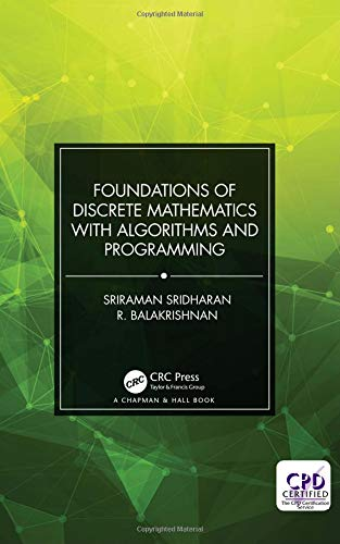 Foundations of Discrete Mathematics with Algorithms and Programming Front Cover