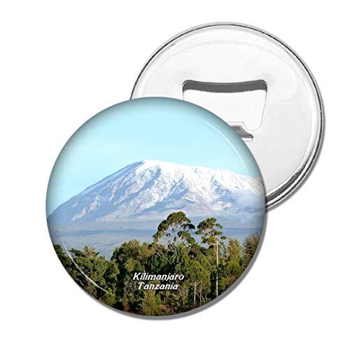 Weekino Tansania Kilimanjaro Bier Flaschenöffner Kühlschrank Magnet Metall Souvenir Reise Gift