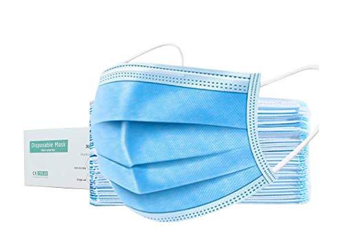 200x Chirurgische Maske OP Maske Typ IIR (4 Boxen a 50 Stück) - BFE < 98% - Mund und Nasenschutz Mundschutz Maske für Krankenhaus, Pflegeeinrichtungen, Unternehmen