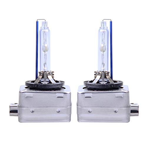 Preisvergleich Produktbild Auto Hernie Lampe 2 PCS D1S 35W 3800 LM 4300K HID-Lampen Xenon-Licht-Lampen-Qualitäts-Scheinwerfer-Birne,  DC 12V (weißes Licht) (Color : White Light)