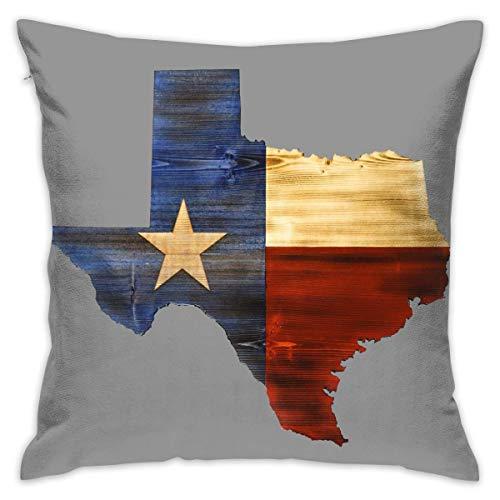 surce Western Texas Kaart Vlag Zachte Comfortabele Houd Kussen Cover Kussens Gooi Kussen Thuis Decoratieve Kussensloop 18