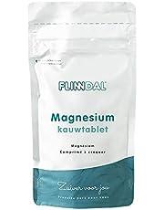 Flinndal - Magnesium Kauwtablet - 90 Tabletten - Goed voor Spieren en Zenuwstelsel - Helpt bij Vermoeidheid - Van Organisch Magnesiumcitraat