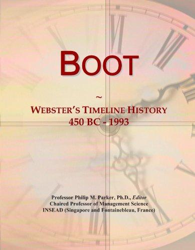 Boot: Webster's Timeline History, 450 BC - 1993