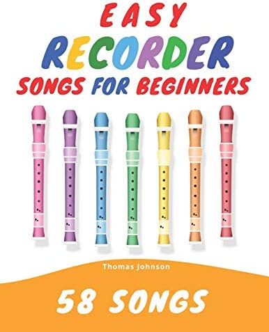 Easy Recorder Songs For Beginners 58 Fun Easy To Play Songs product image
