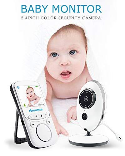 Babá eletrônica com termômetro baby monitor VB605