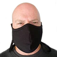 POCKET FOR FILTERS: There is a pocket where you can insert filters into this mask. The filters are not included. ADJUSTABLE EAR LOOPS: The ear loops are adjustable to allow you to get the mask to fit your face easily. There is a strap that goes aroun...
