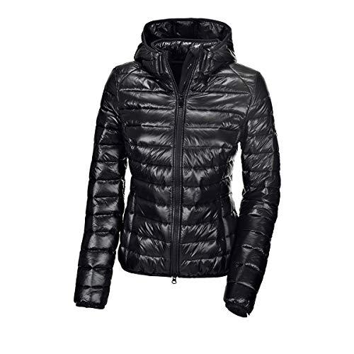 PIKEUR Damen Steppjacke ILVY New Generation Herbst-Winter 2019/2020, Black, 46