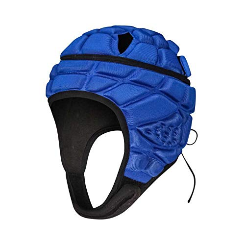DGXINJUN Soft Shell Protective Headgear Protective Gear Rugby Headguards Padding Padded Helmet Reduce Impact Collision Protection Child's Head Ear Chin jaw