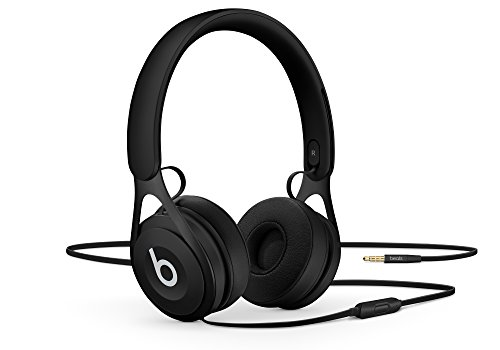 Beats E_P ML992LL/A Wired Headphones Black with Foldable Carrying Pouch