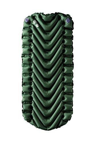 Klymit Static V Junior Sleeping Pad, Green/Char Black