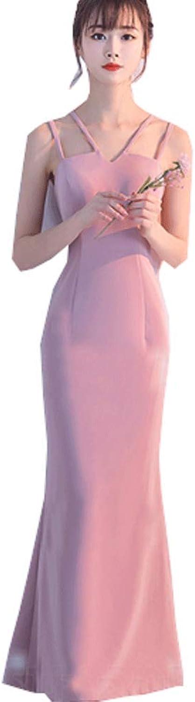 CG Women AnkleLength Mermaid Prom Dress Sleeveless Long Formal Bridesmaids Dress X2