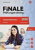 FiNALE Prüfungstraining Hauptschulabschluss NRW Deutsch 2020