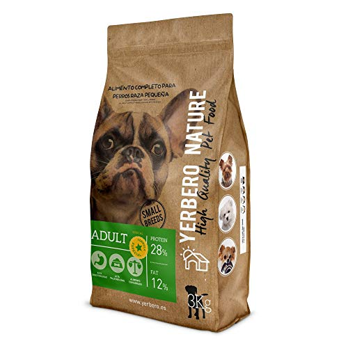 Yerbero Nature Adulte Formule spéciale pour petits chiens 3 kg