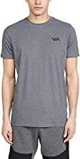 RVCA Sport Sport Vent Short Sleeve Tee Brown Large