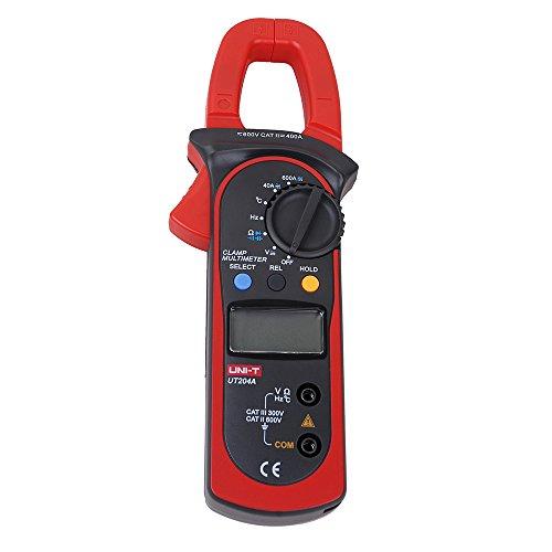 UNI-T UT204A - Multimetro digitale, voltmetro e Tester DMM CA/CC
