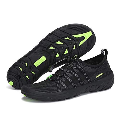 Men Athletic Water Shoes for Men Quick Dry Swim Shoes Pool Shoe Beach Shoe...