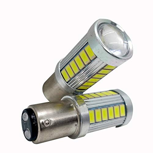 CS GLARE, BAY15D Back Light, Brake Light, Tail Light led Parking Bulb Strobe Flashing 1157 (Universal for All Car and Bikes Pack of 2)