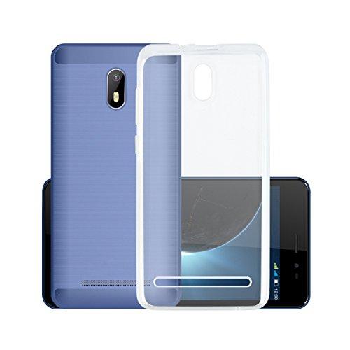 Easbuy Handy Hülle Soft TPU Silikon Hülle Etui Tasche für Leagoo Z6 Smartphone Bumper Back Cover Handytasche Handyhülle Schutzhülle