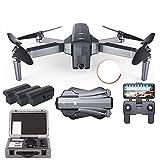 Drone, GPS Drone con WiFi FPV 1080P / 2K Cámara HD Quadcopter sin escobillas Tiempo de Vuelo de 25 Minutos Plegable Dron Vs SG906 A3 (Color: F11 1080P 3B...